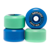 Spitfire - Formula Four Lock-ins Mash Up Blue/Teal 99 Duro Wheels