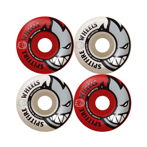 Spitfire - Bighead Mash Up Red/White Wheels 54mm