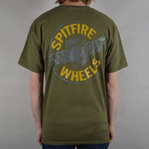 Spitfire - Flying Classic Mil Green T-Shirt