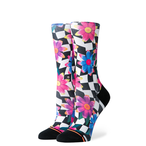 Stance - Crazy Daisy Kids Black Socks