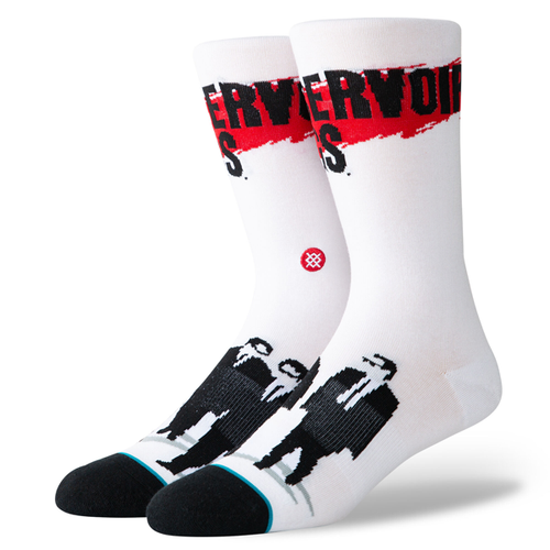 Stance - Reservoir Dog White Socks