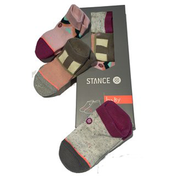 Stance - Baby Girl Bonnie Box 3 Set Multi