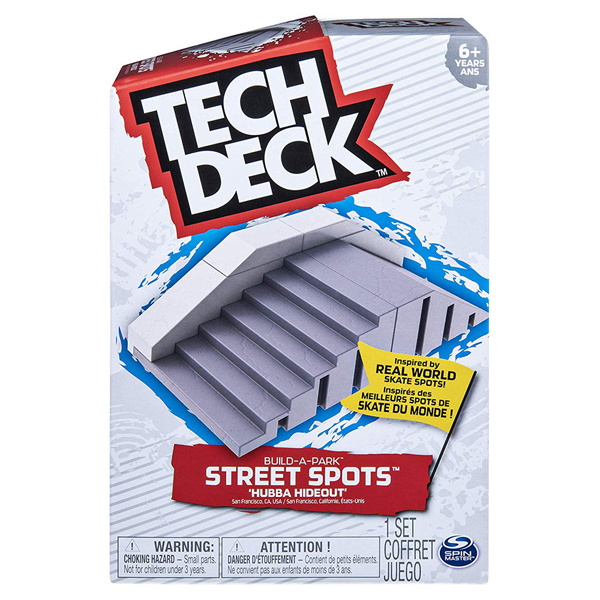 Tech Deck - Build-A-Park Street Spot Assorted Ramps