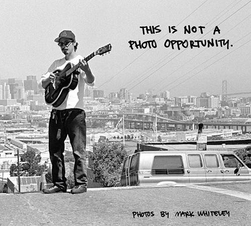 This is Not a Photo Opportunity  - A Book of Photos by Mark Whiteley