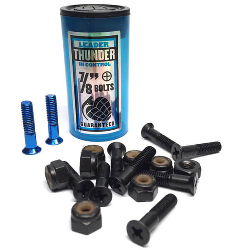 "Thunder - Allen Bolts 7/8"" Blue"