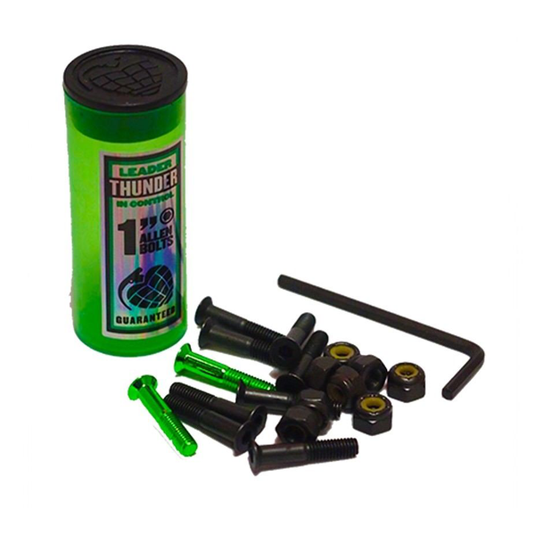 "Thunder - Allen Bolts 1"" Green"