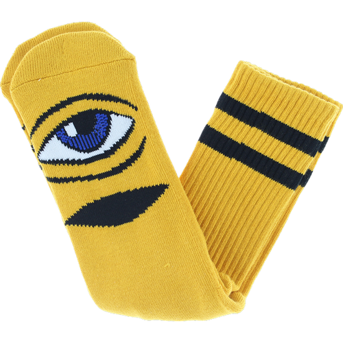 Toy Machine - Sect Eye III Crew sock Mustard