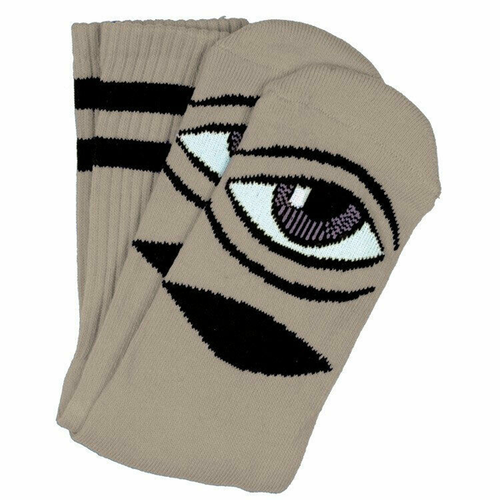 Toy Machine - Sect Eye III Crew sock Camel