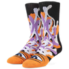 Toy Machine - Barf Sect Socks Orange Multi