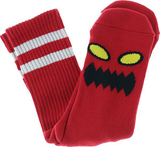 Toy Machine - Monster Face Socks Red