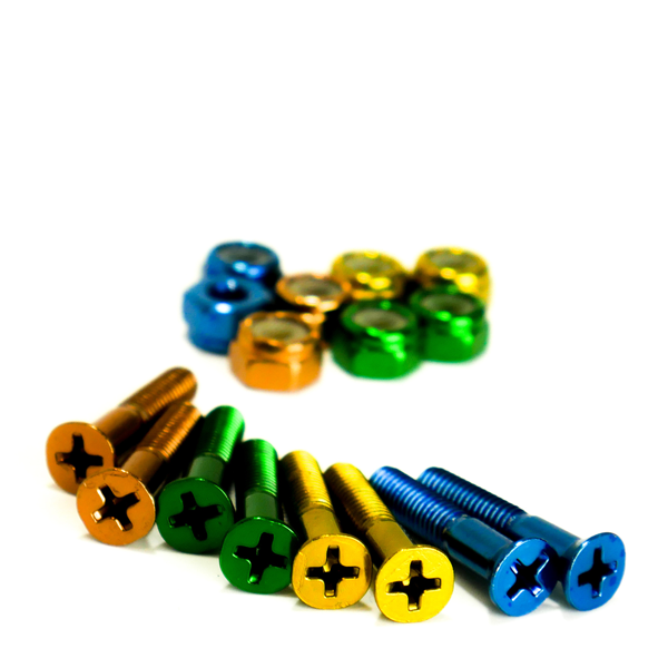 Trinity - Bolts 1 inch Anodized Colour