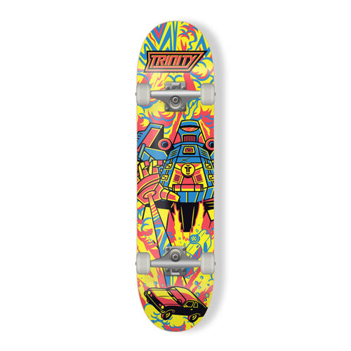 Trinity Skateboard - Complete Riot Bot 7.25""
