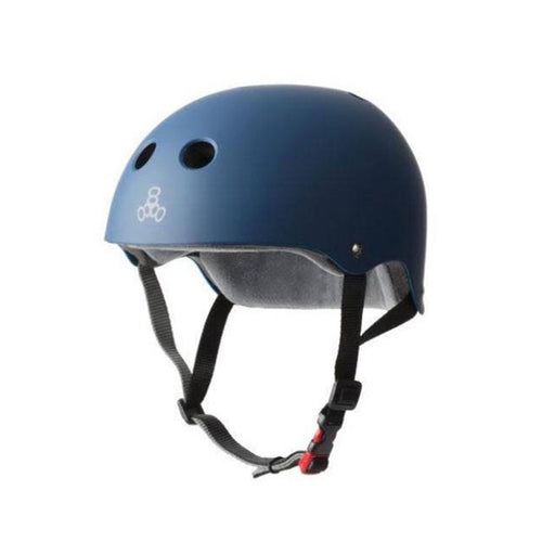 Triple 8 - Certified Helmets SS Navy Rubber