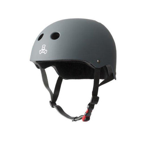 Triple 8 - Certified Helmets SS Carbon Rubber Charcoal