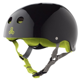 Triple 8 - Brainsaver Black Gloss Helmet