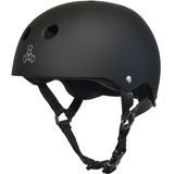 Triple 8 - Brainsaver Black Rubber Helmet