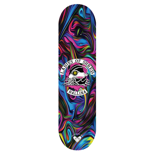 Truckstop Sk8 - Ladies of Shred Psychedelic Shop Deck