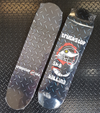 Truckstop Sk8 - Checker Plate Pool Shape Shop Deck 9.0