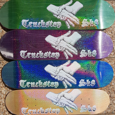 Truckstop Sk8 - Checker Plate Shop Deck
