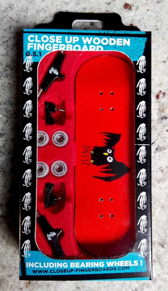 Fingerboard - Up Close Antiz Owl Red Complete