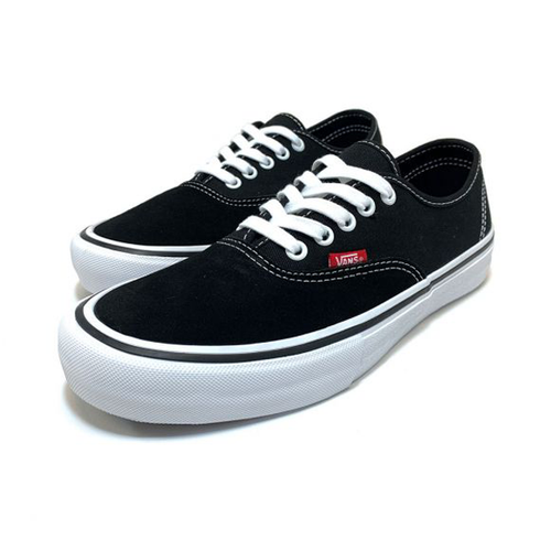 Vans - Authentic Pro Black/White Suede