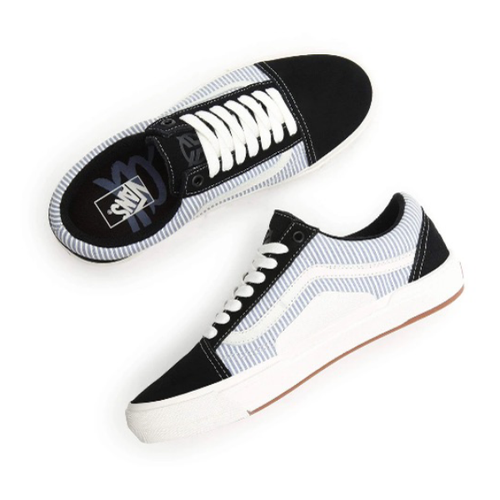Vans - BMX Old Skool (Federal) Black/Blue/Pinstripe