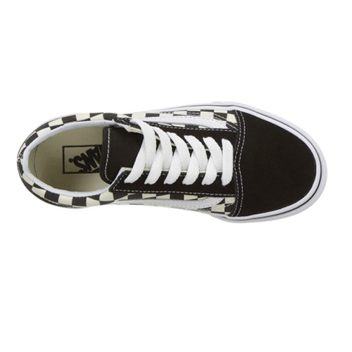 Vans - Kids Old Skool  Primary Check Black/White
