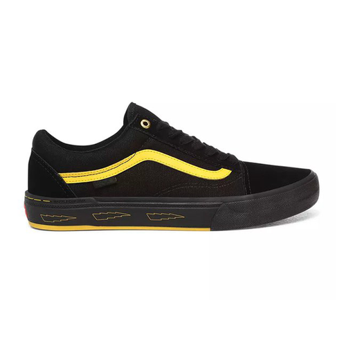 Vans - Old Skool Pro BMX Larry Edgar Black/Yellow Shoes