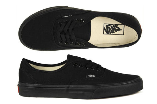 Vans - Authentic Black/Black