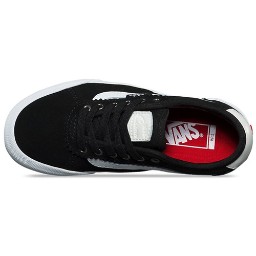 Vans - Kids Chima Pro 2 Suede/Canvas Black/White Shoe