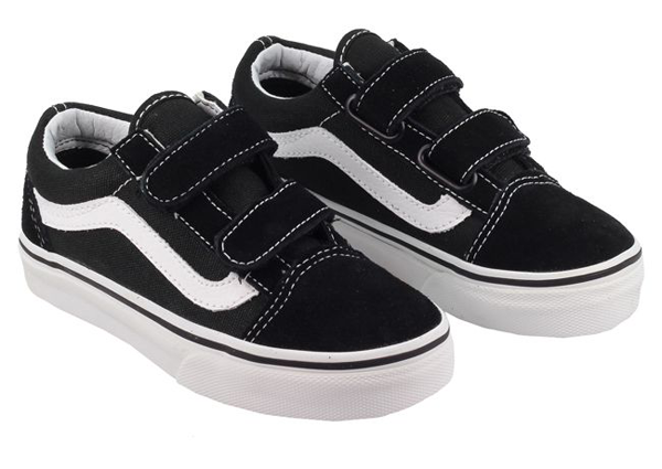 5df9b2ba0dc Vans - Kids Old Skool V Black White – Truckstop Sk8