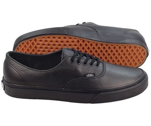 Vans - Authentic Decon Leather Black/Black