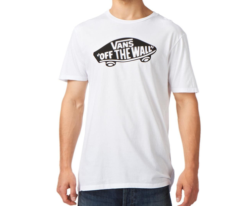 Vans - Off The Wall Logo White