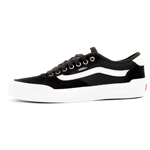 f01ad1a22a Vans - Chima Pro 2 Suede Canvas Black White Shoe