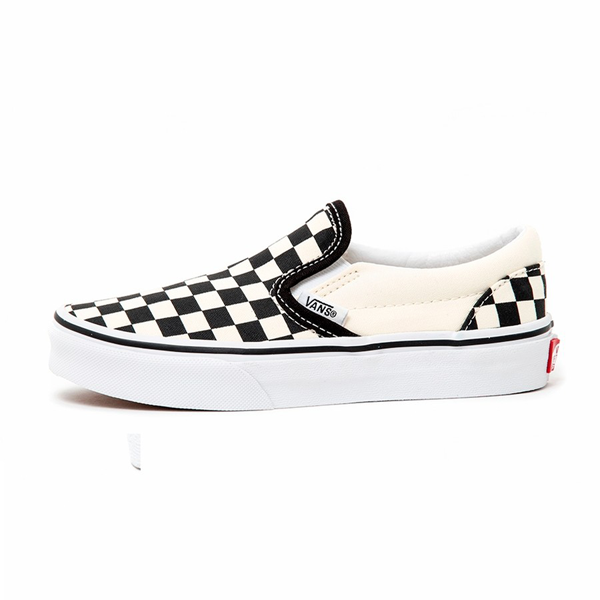 Vans - Classic Kids Slip On Black/White Checkerboard