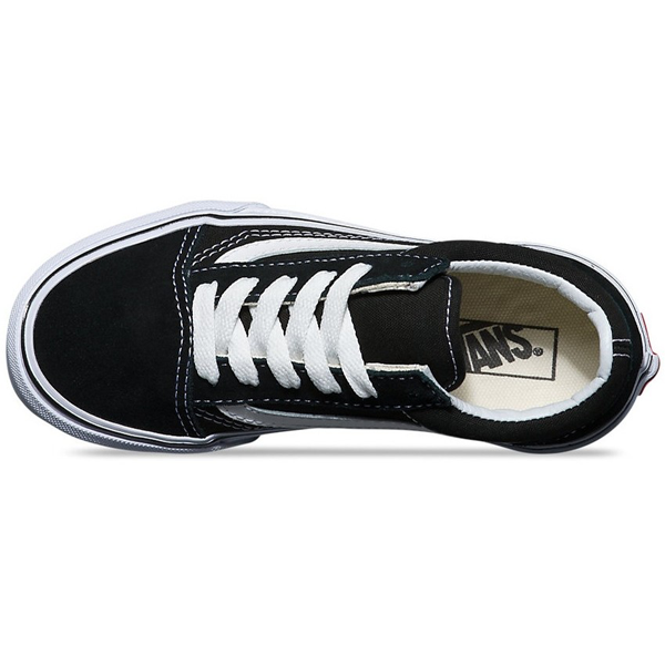 Vans - Kids Old Skool  Black/True White