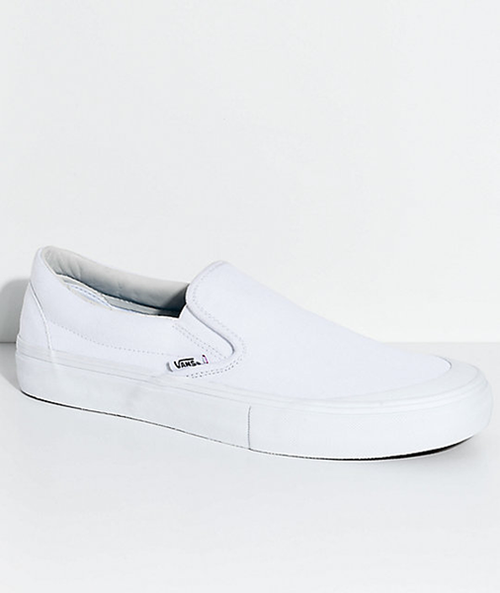 Vans - Slip On Pro Andrew Allen White