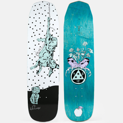 "Welcome - Fairy Tale On Wicked Princess White/Black 8.125"" Deck"