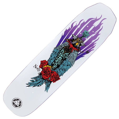 "Welcome - Nora Vasconcellos Peregrine On Wicked Princess 8.125"" White"