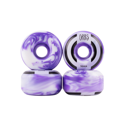 Welcome - Orbs Apparitions 56mm Wheels Purple/White Swirl