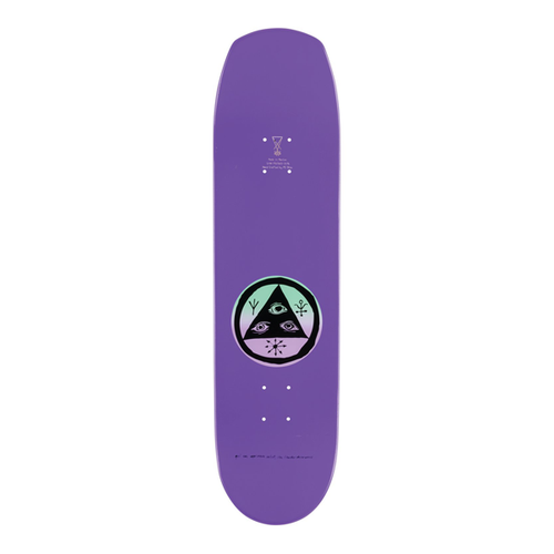 Welcome - Face Of A Lover On Helm Of Awe 2.0 Shape Purple 8.38