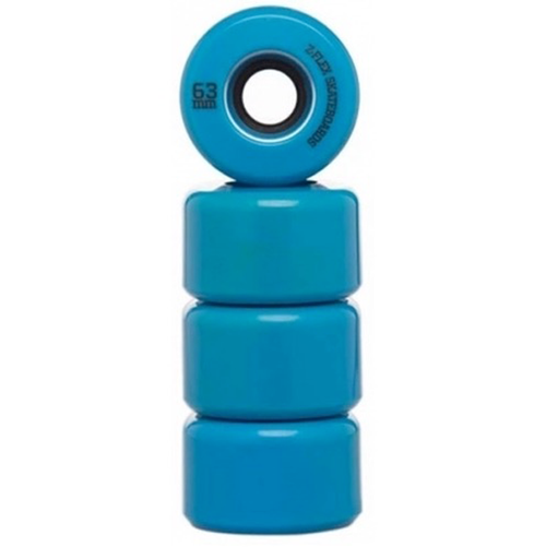 ZFlex - V2 Z Smooth Wheels 63mm 78a Blue