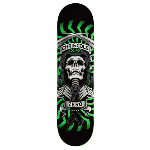 "Zero Skateboards - Chris Cole MMXX 8.0"" Deck"