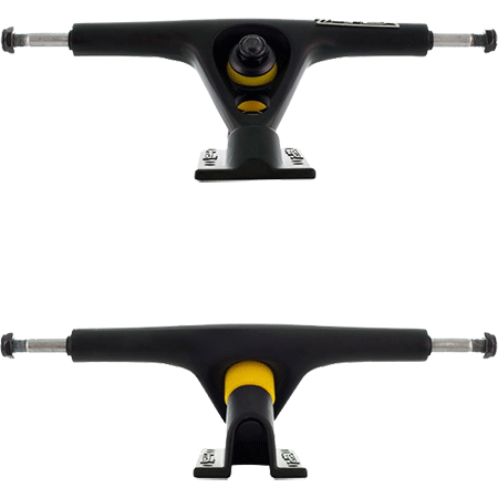 ZFlex - Longboard Reverse Kingpin 180mm Trucks Black