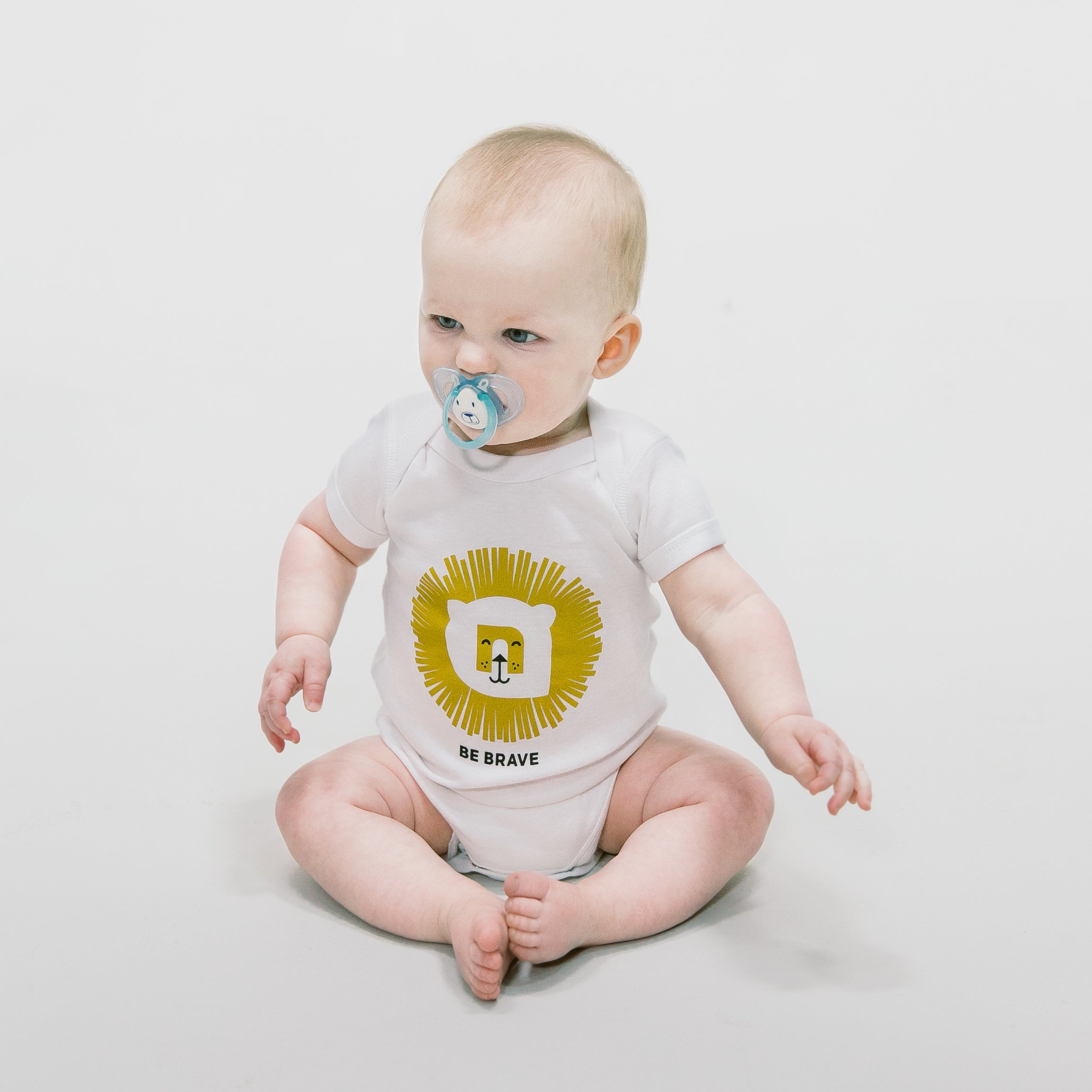 Be Brave Lion Onesie