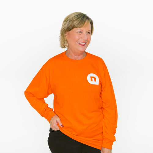 NewSpring Orange Long Sleeve Shirt