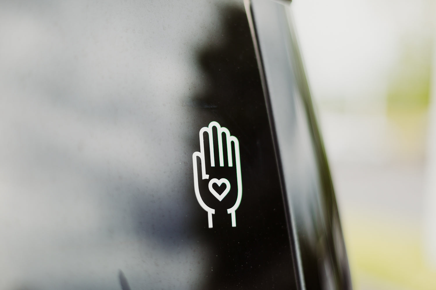 Showing Visible Love Sticker