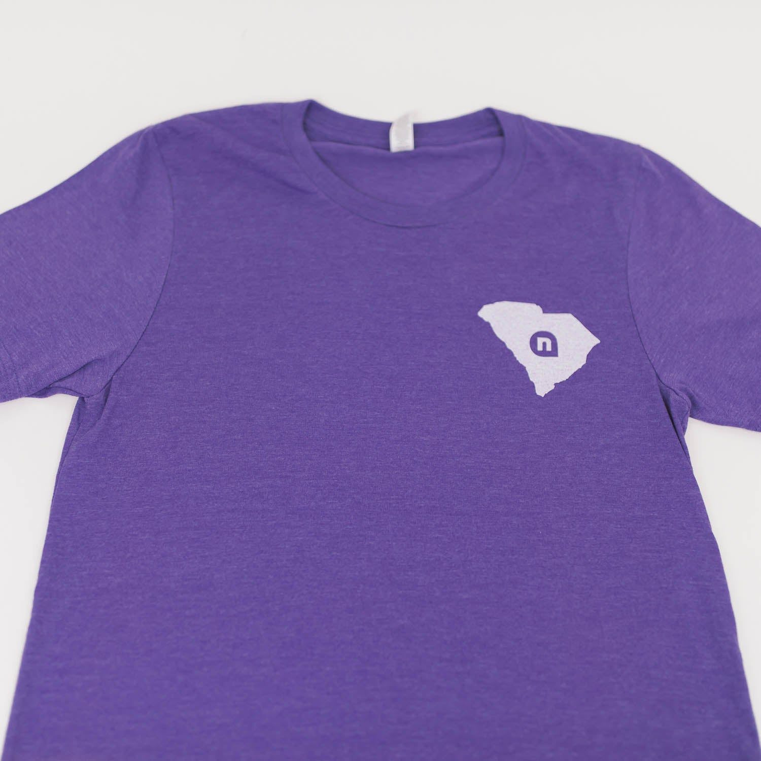 Heather Purple SC Tee