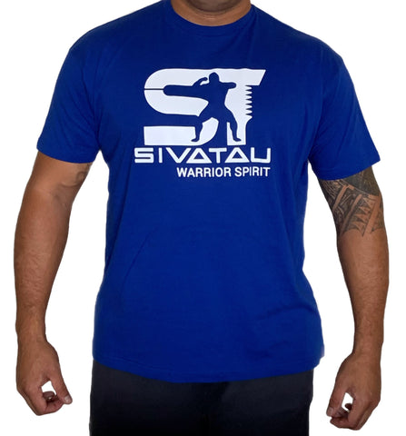 Royal Blue/White Sivatau T-Shirt