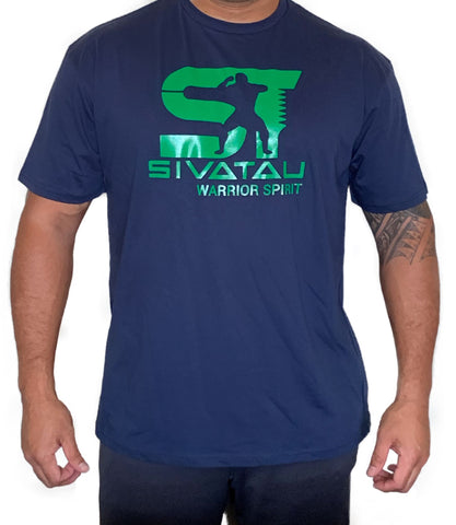 Navy/Green Sivatau T-Shirt